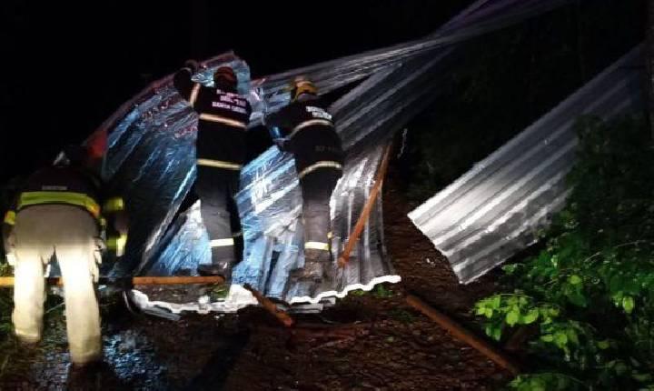 Defesa Civil investiga possibilidade de novo tornado no município de Seara