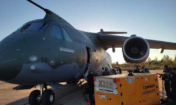 FAB substitui aeronave que leva ajuda humanitária ao Haiti