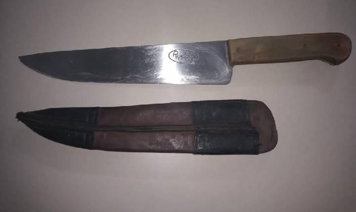 Homem é detido após agredir e ameaçar a própria filha com uma faca em Chapecó