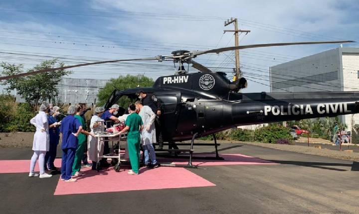 HRO divulga estado de saúde de bebê sobrevivente de ataque em Saudades