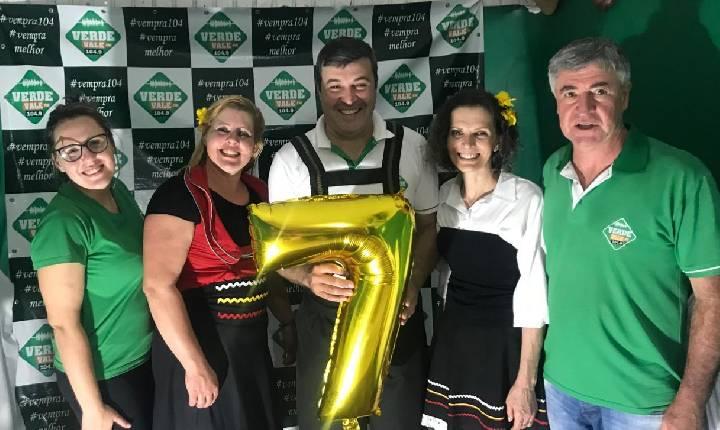 Live de aniversário de 7 anos da Verde Vale FM foi um sucesso