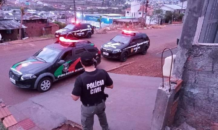 Operação que busca desmantelar facção criminosa cumpre 14 mandados, em Xanxerê