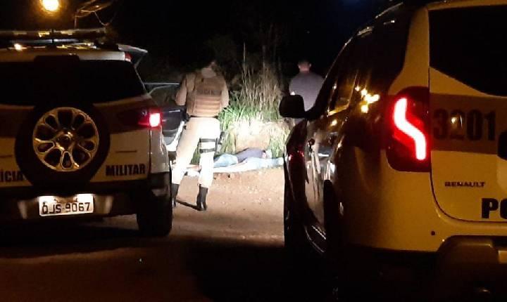 Perseguição policial termina em tiros e dois homens detidos em Chapecó