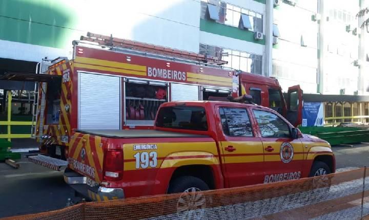 Princípio de incêndio atinge Secretaria da Saúde em Chapecó