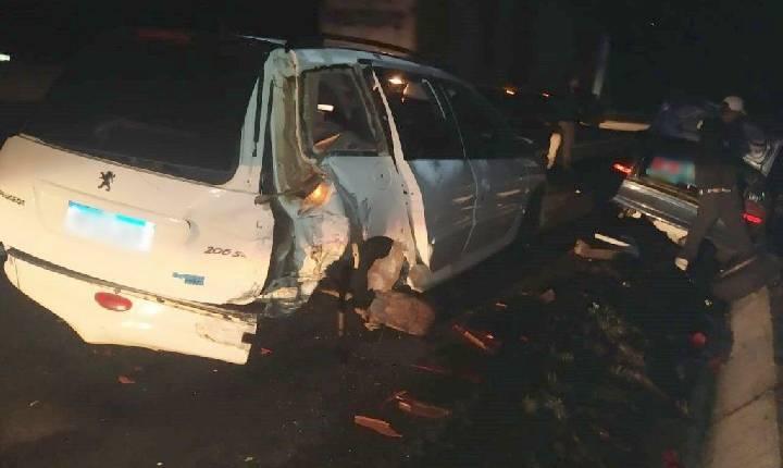 Veículo de Xavantina conduzido por menor se envolve em acidente