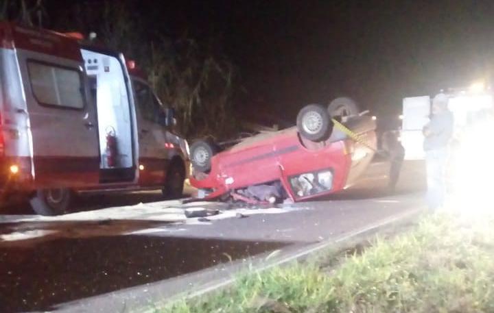Duas pessoas morrem e uma fica gravemente ferida em acidente ocorrido em Alto Irani, Xavantina
